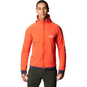Mountain Hardwear Keele Ascent Hoody Jacket Men fiery red